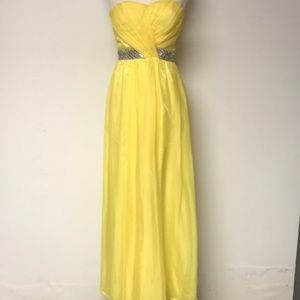 Yellow Formal Dress